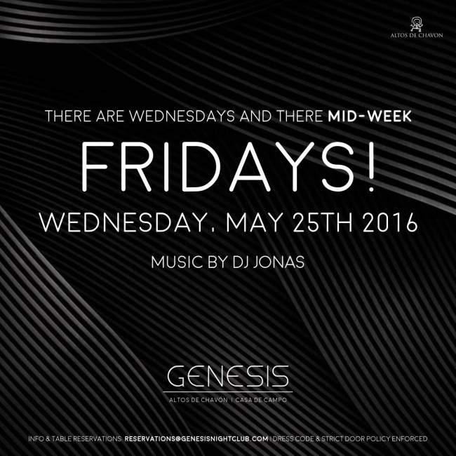 Mid Week Friday Flyer Genesis