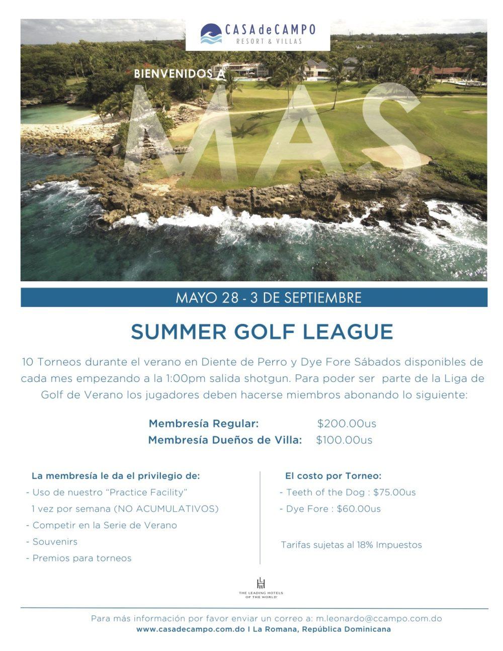 Summer Golf League Casa de Campo