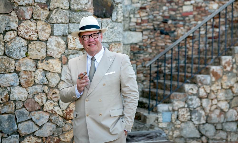 Hans Kristian Hoesjsgaard Davidoff Yamasa Cigar