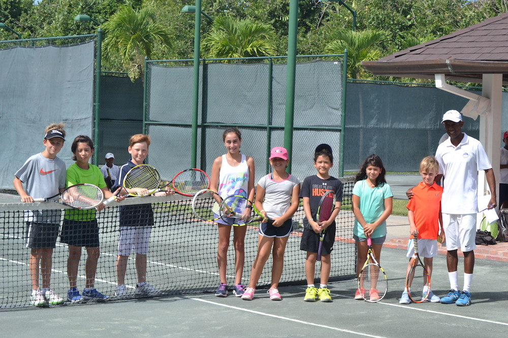 MIR Family Weekend 2016 Tennis Clinic