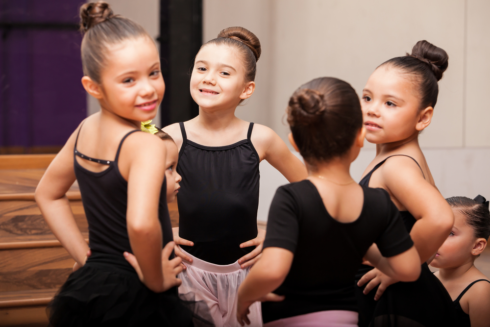 Stage ballet group