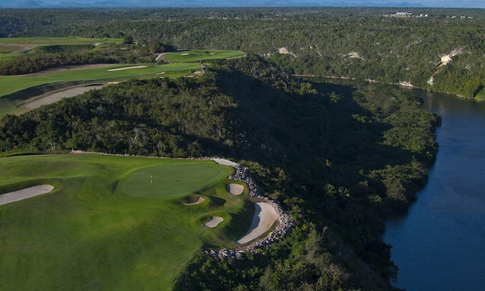 private golf resort in the Dominican Republic