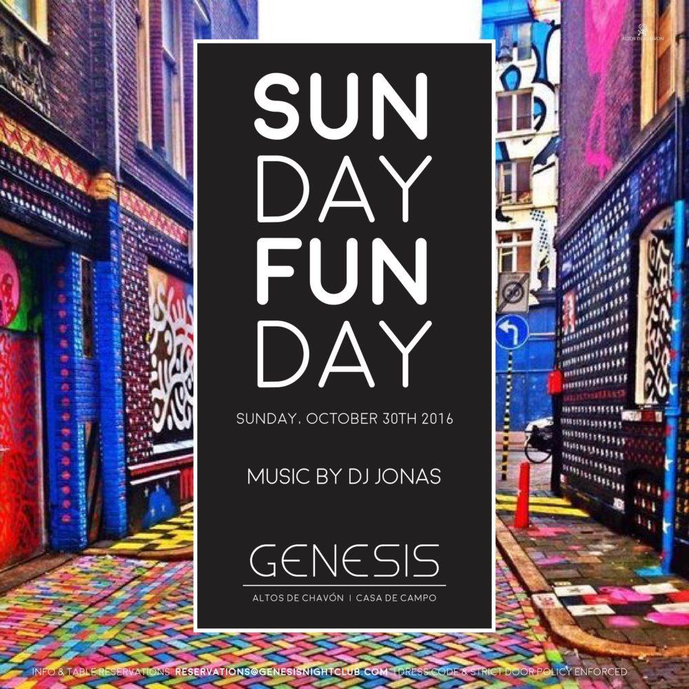 Genesis Weekend 27-30