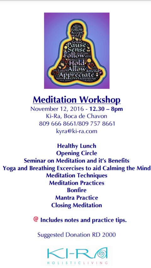 KI-RA Holistic Living Meditation Workshop