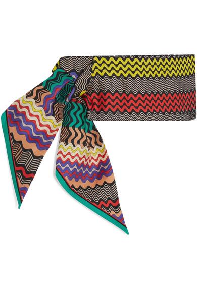 Missoni silk scarf - Tpack