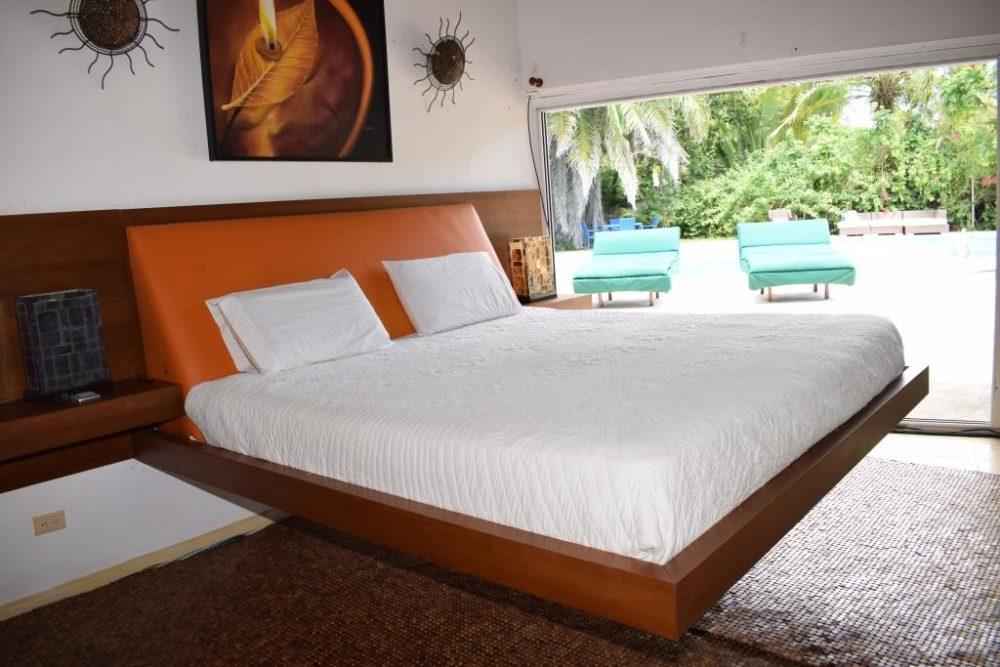 Teak bed at Teck RD