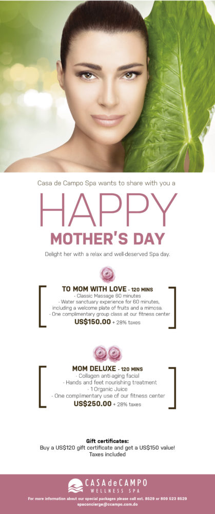 Mother's Day Specials at the Spa