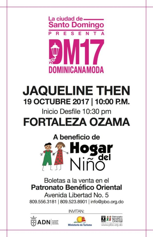 Dominicana Moda 2017 - Hogar del Niño