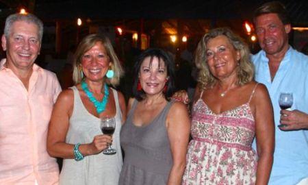 casa de campo villa owners enjoy bayahibe beach party