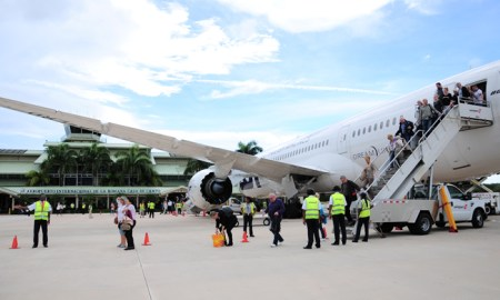 La Romana - Casa de Campo airport Boeing 787