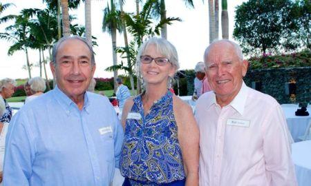 Alfonso Paniagua, Kathy and Rick McDaniel