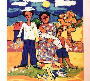 Candido BIDO serigraph
