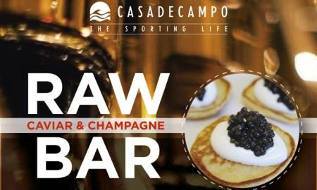 Caviar Champagne bar