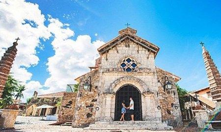 Altos de Chavon church Casa de Campo