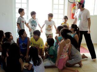 Jogos tradicionais com Eduardo Alcântara
