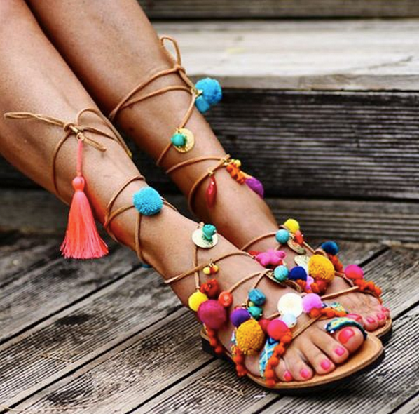 elina linardaki sandals