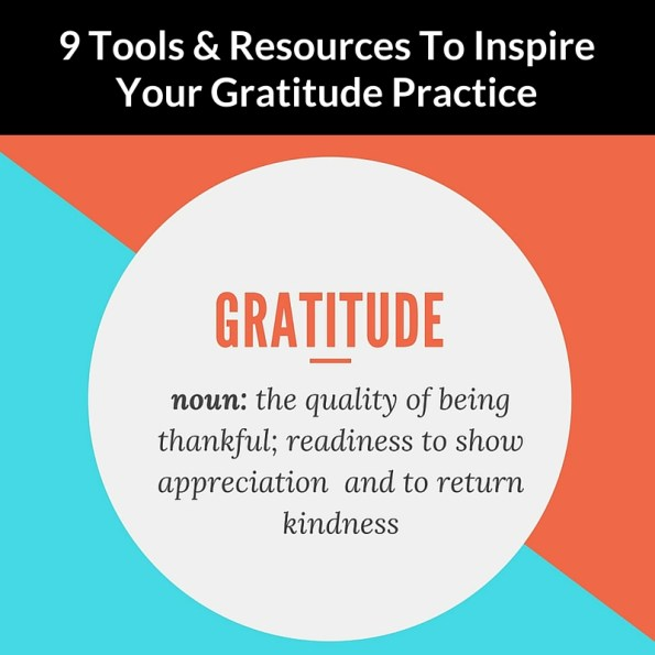 Gratitude Tools & Resources