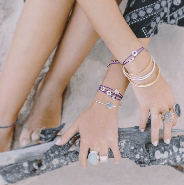violet gray design intentional jewellery