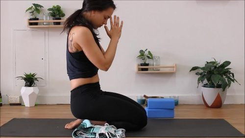 yoga for flexible body and mind - namaste