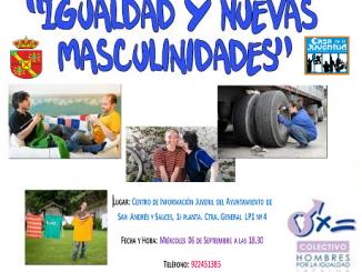 Iguladad y Nuevas Masculinidades. Centro de Información Juvenil del Ayuntamiento de San Andrés y Sauces