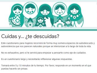 Cuidas...¿Y te cuidas?. Centro de Información Juvenil del Ayuntamiento de San Andrés y Sauces
