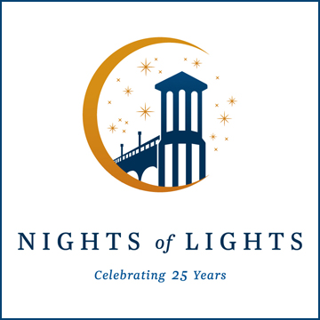 Nights of Lights 25 Years Logo