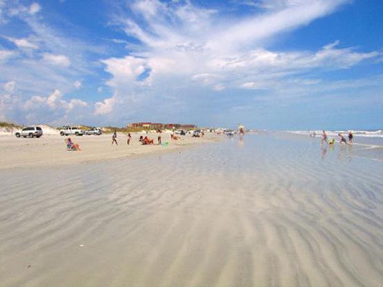 St Augustine Beach scene