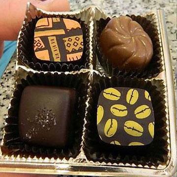 Box of Claude's Chocolates