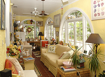 Sunny East Room common area