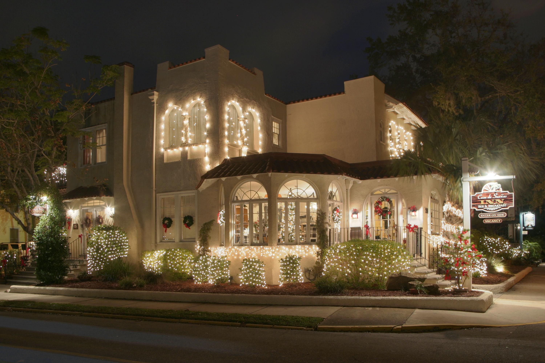 Casa de Suenos decorated for Nights of Lights