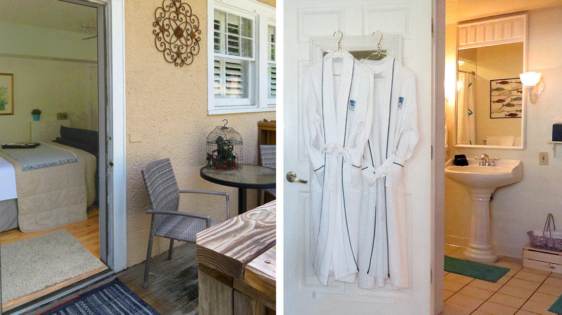 Nieves Porch and Bathroom Collage