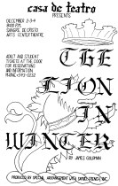 The Lion in Winter - The Poster