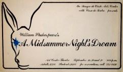 A Midsummer Night's Dream - The Poster