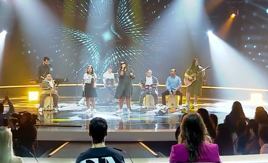 A CANTORA DE BNEI MENASHE ACTUARÁ NA EUROVISION, COMO PARTE DA BANDA DE SHALVA.