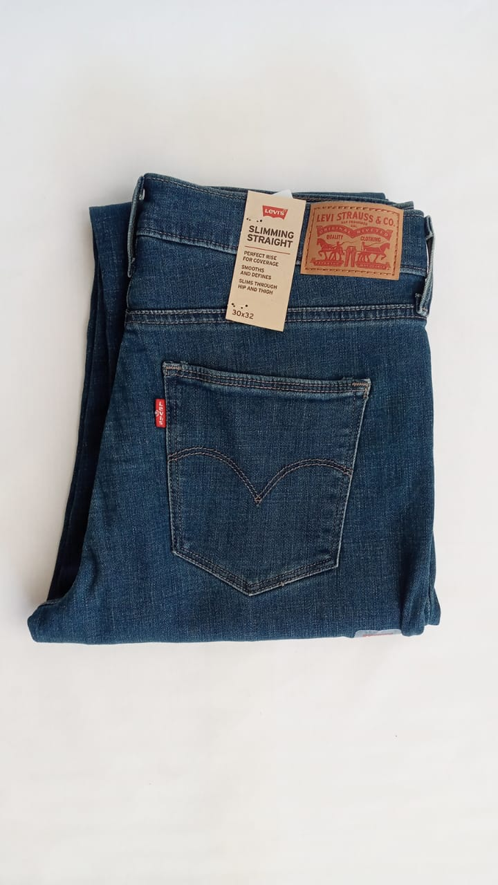 Pantalon De Mezclilla Levi S Slimming Straigth Casa Edith Tu Boutique Familiar