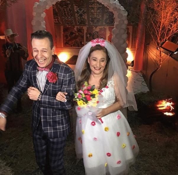 Vestido de noiva caipira de Sonia Abrão