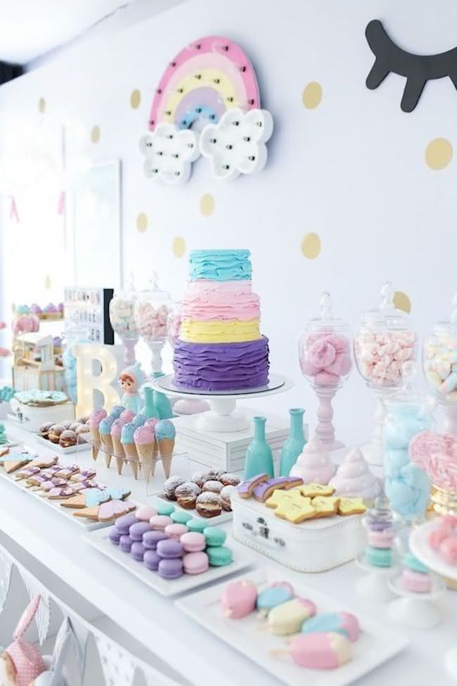 M M Themed Baby Shower