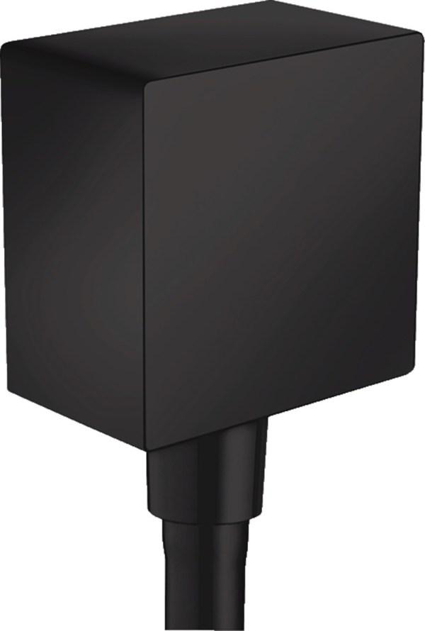 Accesoriu Hansgrohe FixFit Square negru mat