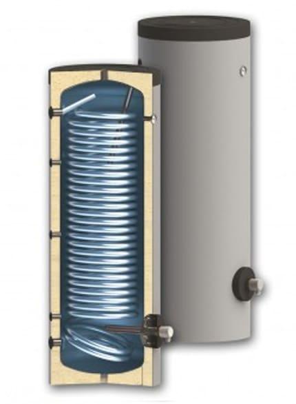 Boiler pentru sisteme cu termopompe Sunsystem SWPN L 300 litri