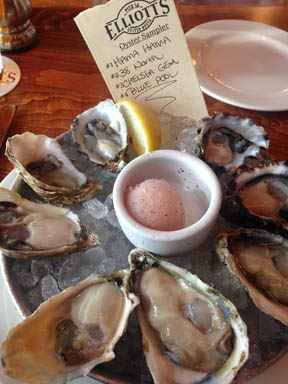 Nobody does oysters quite like Elliott's