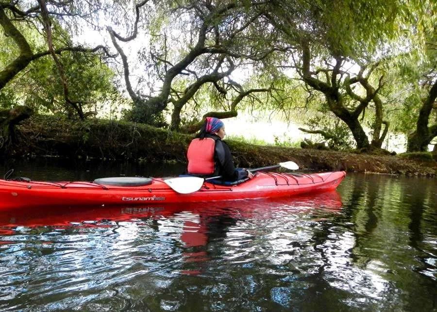 Kayak La Poza, expriencias de Casa Gioia