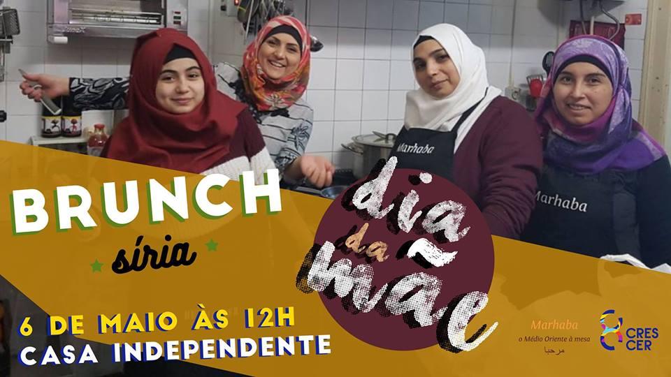 Brunch Tradicional da Síria   6 Maio   12h   15€