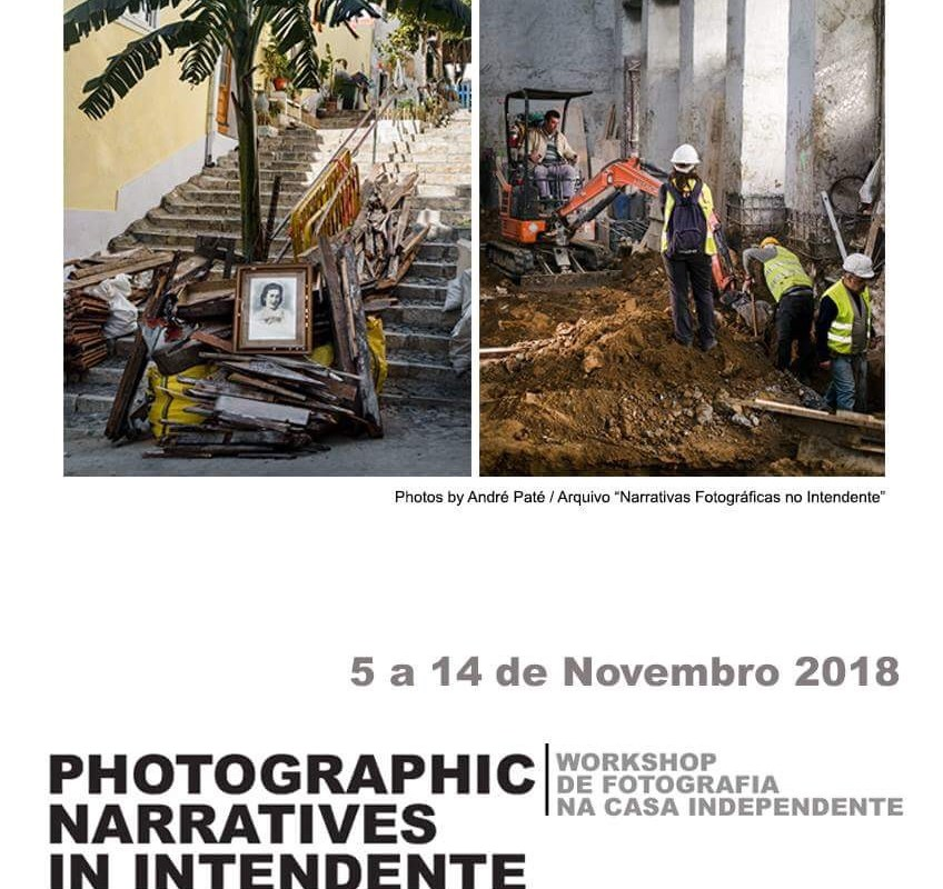 10º Workshop Narrativas Fotográficas no Intendente | 5 a 14 de Novembro