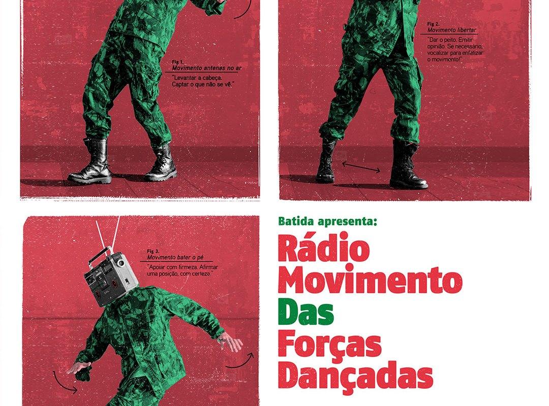 BATIDA apresenta: Rádio Movimento das Forças Dançadas – 88.4FM