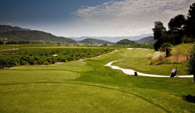 THE SUPERB LA GALIANA GOLF COURSE (HALF AN HOUR FROM GANDIA)