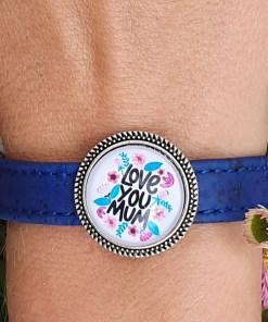 Bracelet en liège Artisanal Fêtes des mères