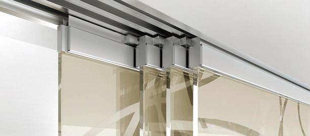 Le tende a pannello , infatti, sono utilizzabili come porte in tessuto per. Casali Sliding Glass Solutions Interior Design Cristal
