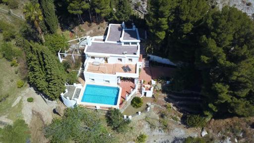 Ein Landhaus mit Pool in La Alpujarra - Granada - Spanien