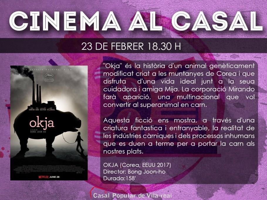 Cartell cinema OKJA