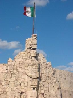 Monument in Mérida